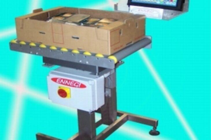Полуавтоматический весовой этикетировщик для коробок