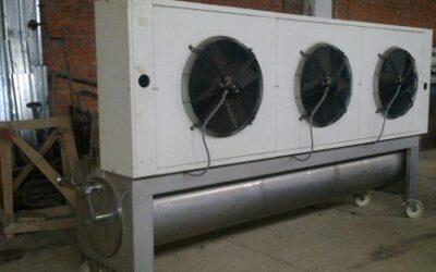 Ультра охладитель скребкового типа VELO