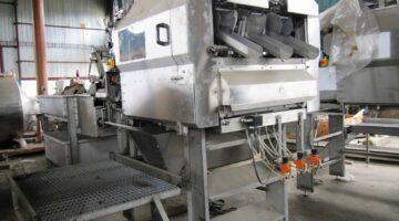 Машина для снятия кожуры, удаления сердцевины и резки яблок